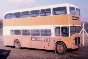 Gilbert's Bridgemaster bus