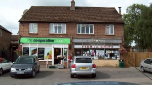 Chip shop and Co-op